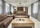 恒亿尚品湾 | 150㎡花园洋房爆改出超大主卧、汗蒸房、4个卫生间、7米超高书架、超大画室等300㎡的空间
