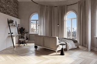 87㎡ 简约公寓,巧用复古元素装出现代感!