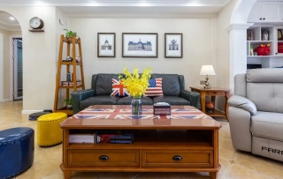 翔安•卢卡小镇 夫妻白手起家打造 106㎡美式三居 这就是梦想中家的样子!