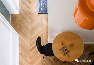 60㎡舒适北欧风小宅,打造精致时髦的复古腔调