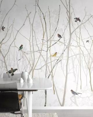 素色墙纸可以放下了,这样的墙纸才能玩转家居
