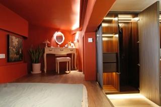 年度最任性奇葩房,49m²装下5床2卫、1茶室、1衣帽间、1影音室...