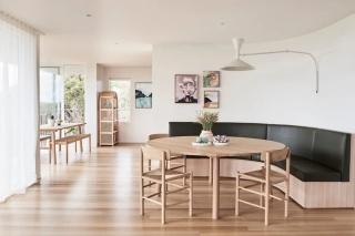 两居室简约住宅,原木家具加上藤编元素太好看了!