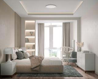 62㎡现代公寓,用线条衬托高级感