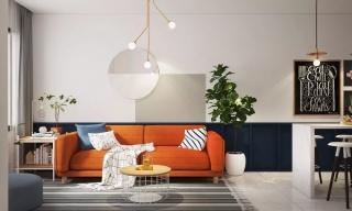 笨重大沙发早过时了!客厅这样设计,立马大5㎡!
