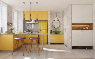 厦门中产家庭最爱的22个L型厨房,值得照搬回家!