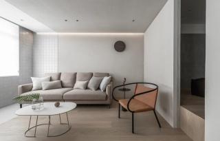 台湾小夫妻76㎡婚房改造,半墙软隔断+隐形收纳+多功能室,貌美又好住!