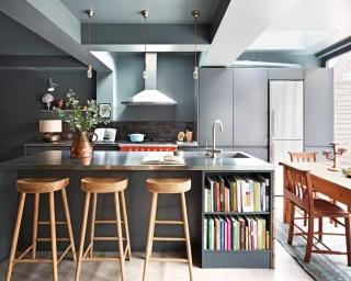 怎么没人跟我说,厦门小户型厨房也能装下厨房岛台这个豪宅标配啊?!