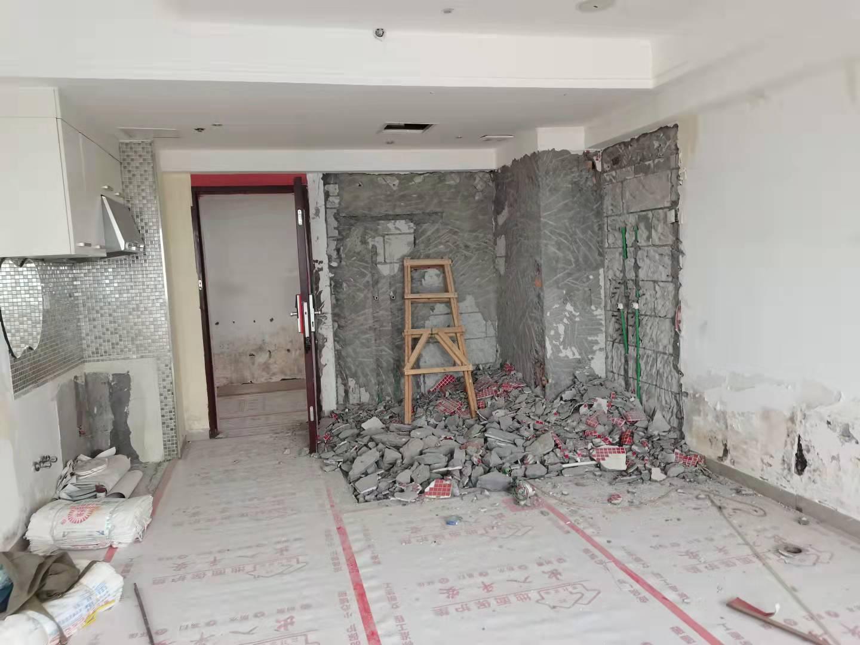 湖里.万达广场公寓25楼重新改造【设计+施工】